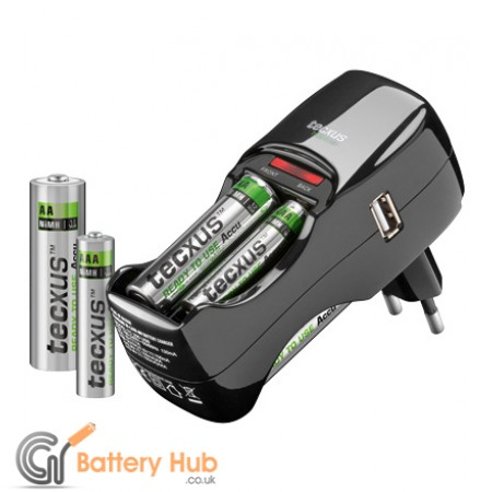 Charger TC 200 Easypack plus 2 x AA and 2 x AA