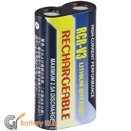 Rechargeable Lithium Photo Battery CR-V3
