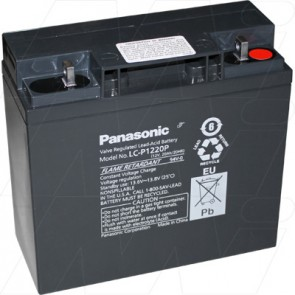 Panasonic Lead Acid Battery 12 V/20Ah (LC-P1220P) Thread (M5)