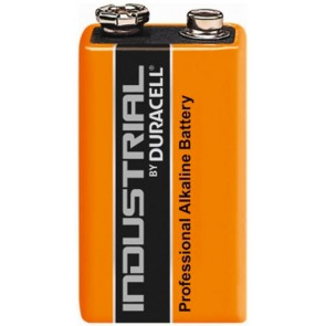 Duracell Industrial Alkaline Manganese 9V Block