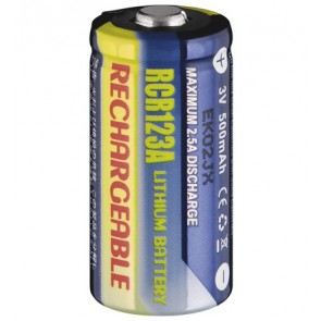 Rechargeable Lithium Photo Battery CR 123