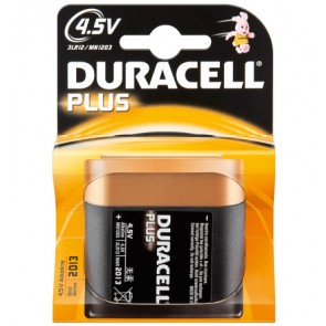 Duracell - Plus 4.5V Block Battery - Alkaline