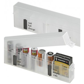 Battery storage box 8 x AA(A) + 8 SD Cards